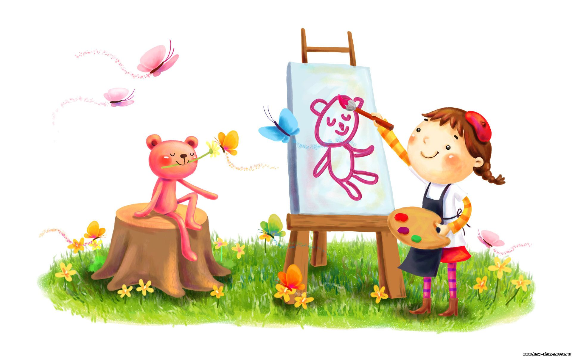 Как рисуют дети